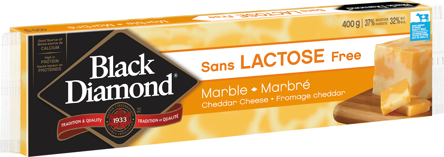 Lactose Free Marble Cheddar