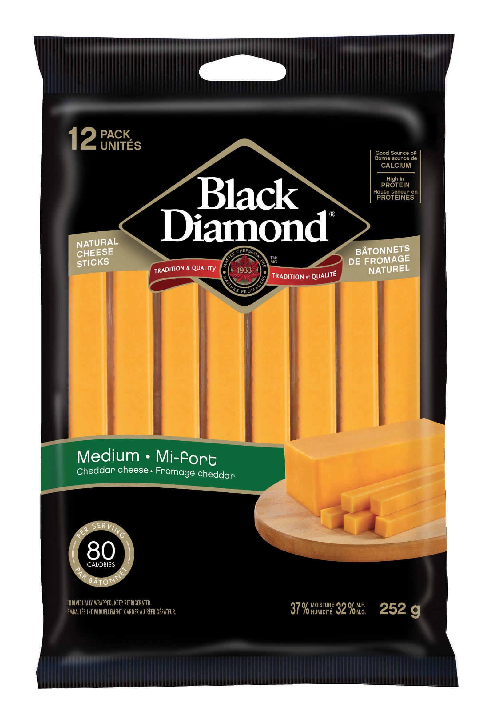 Medium Cheddar Cheese Sticks