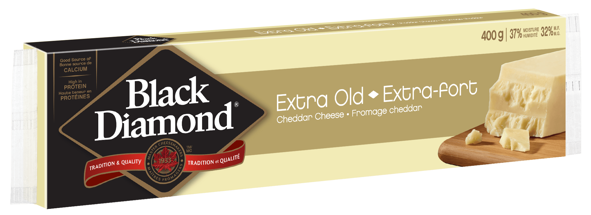 Cheddar extra-fort 400 g