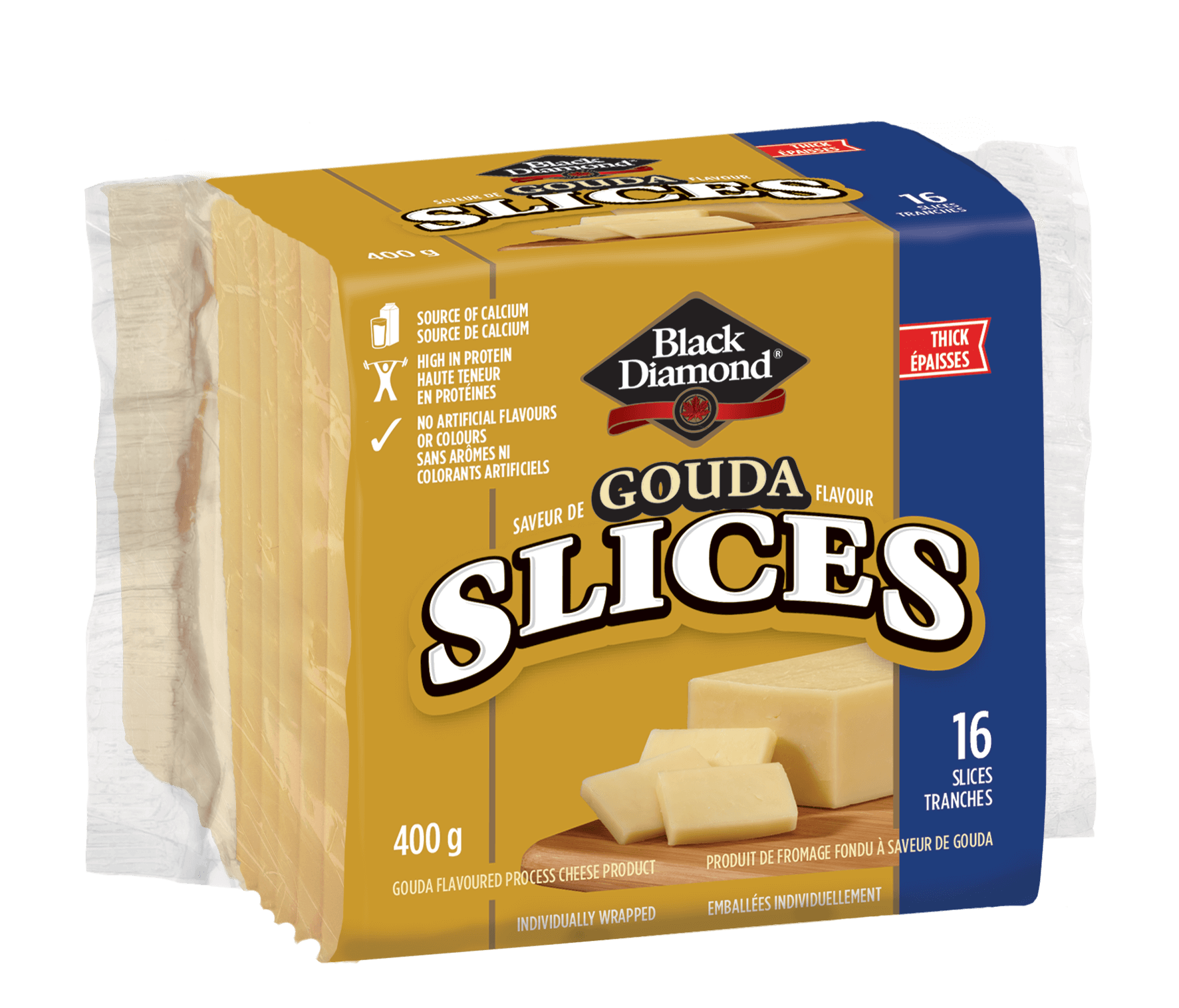 Gouda Cheese Slices 400g