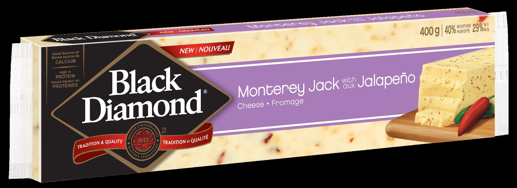 Monterey Jack aux piments jalapeño 400 g