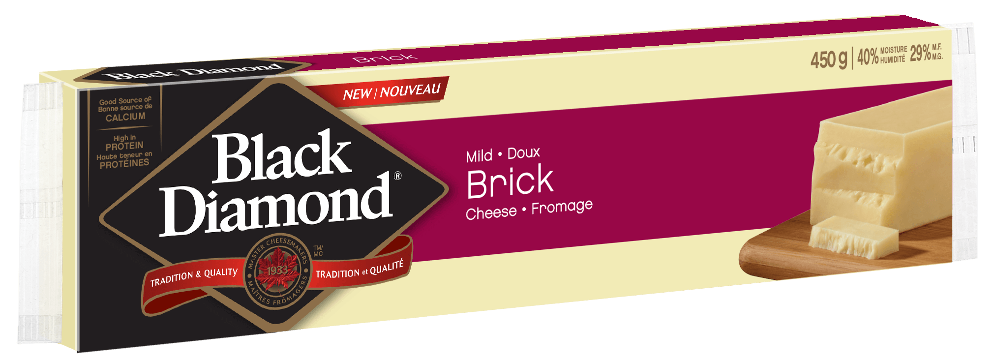 Fromage brick  450 g