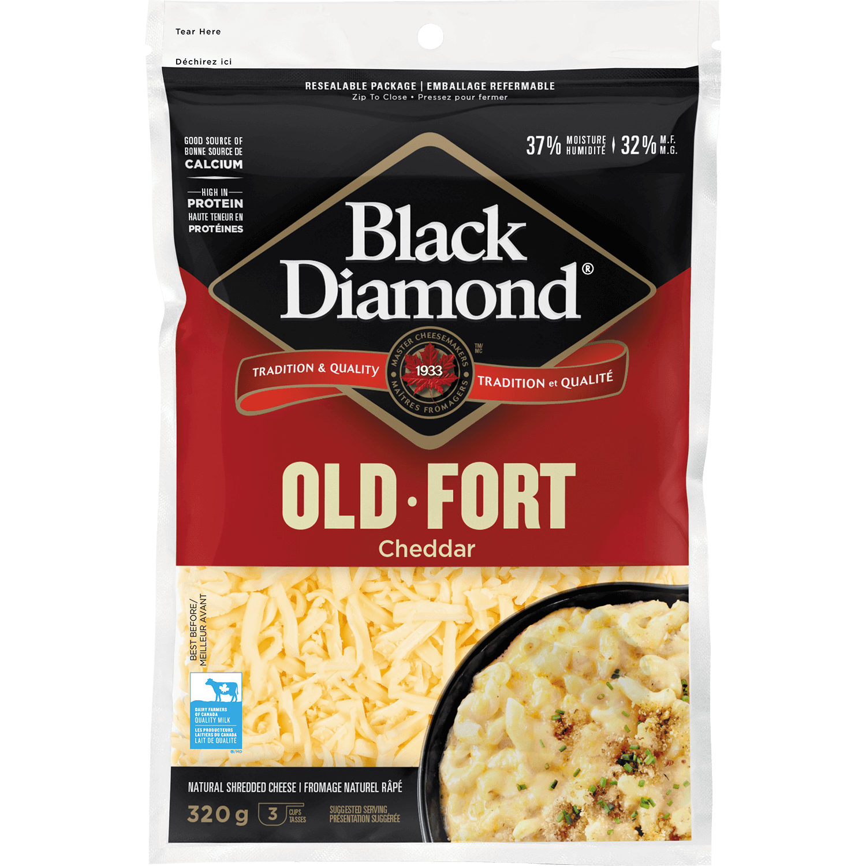 Old White Cheddar Shredded Cheese