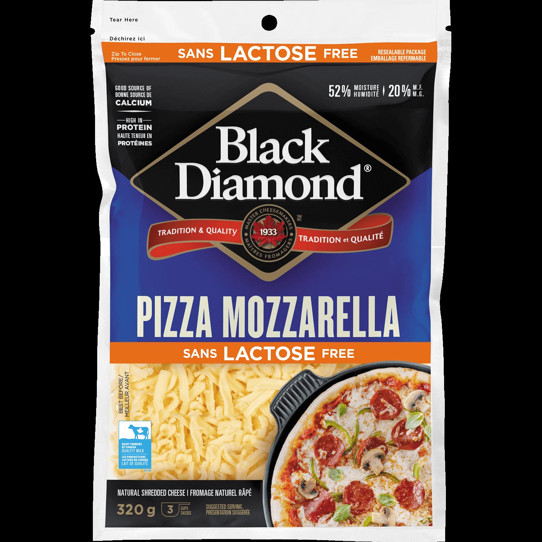 Lactose Free Pizza Mozzarella Shredded Cheese